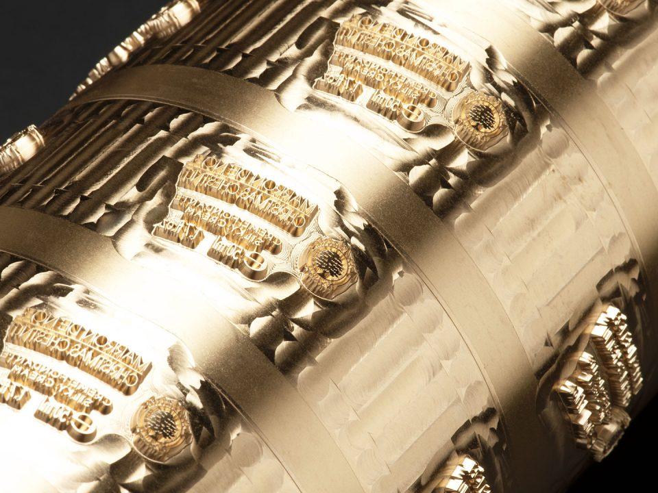 RTX cylindre de dorure à chaud